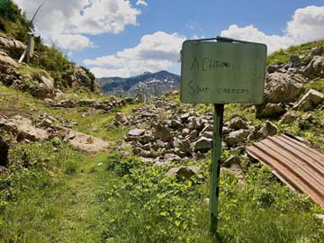 An der Grenze zu Slowenien