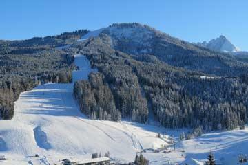 Skigebiet in Russbach