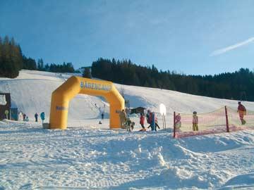 Skikindergarten in der Nähe der Ferienwohnung Rußssbach