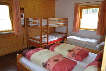 Schlafzimmer 2: das Familienzimmer
