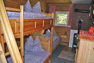 Blick in die Schlafzimmer (EG)