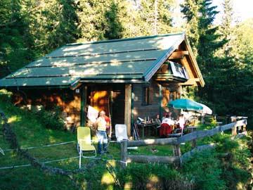 Hütte Wagrain - Ruhe, Erholung und jede Menge Spaß auf der Terrasse