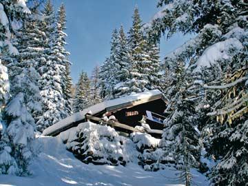 ein Wintermärchen mitten in der Salzburger Sportwelt (Kundenfoto)