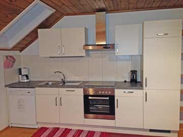 Neue Küche im Wohnraum