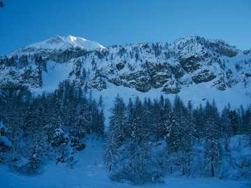 Nahe an den Pisten, dennoch herrlich ruhige Lage: unser Chalet in Obertauern
