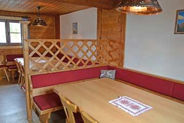 Hütte Radstadt - die gemütliche Hüttenstube