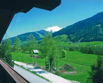 Ferienhaus Pass Thurn - Aussicht