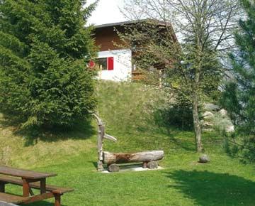 Ferienhaus Pass Thurn - Garten
