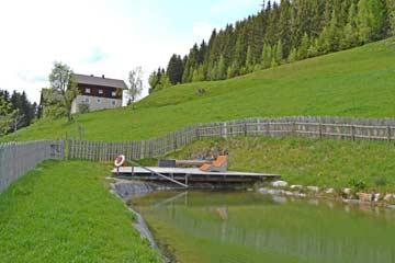 Ferienhaus Mühlbach am Hochkönig mit Sauna und Schwimmteich