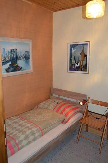 Schlafzimmer 5 mit Einzelbett