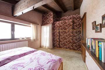 Schlafzimmer 1 im EG mit Terrassenzugang