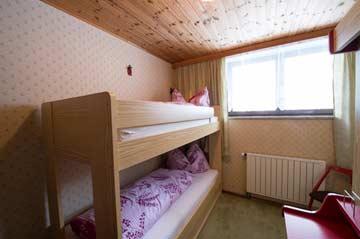 Schlafzimmer 4 mit Etagenbett