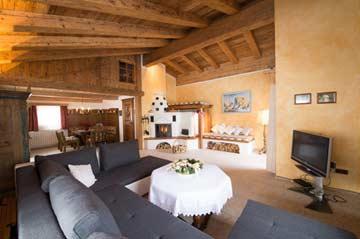 Komfortferienhaus mit Sauna in Annaberg direkt an der Piste