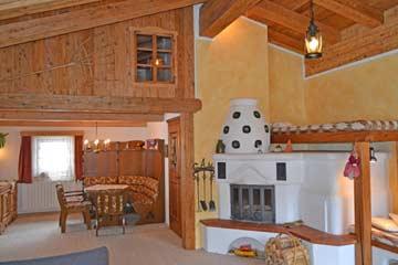 Sehr schöner Wohnraum im Hüttencharakter