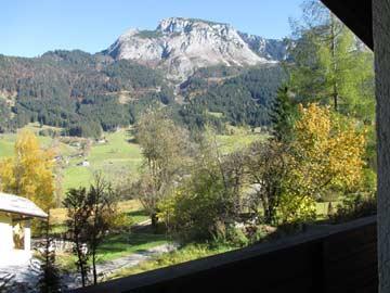 beeindruckende Alpenkulisse