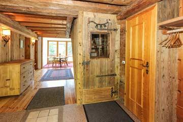 Eingangsbereich zur Bauernstube