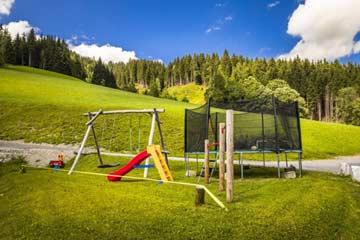 Spielplatz auf dem Hof