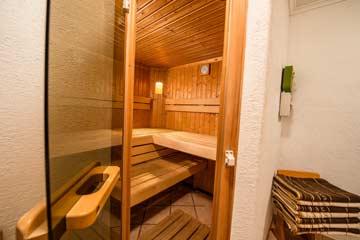 Sauna (gemeinsame Nutzung für alle Hausgäste)