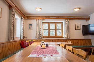 Skihütte Obertauern - Speise- und Aufenthaltsraum