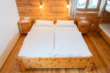 Skihütte Obertauern - Blick in die Schlafzimmer