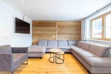 der Lounge-Bereich im 1. OG