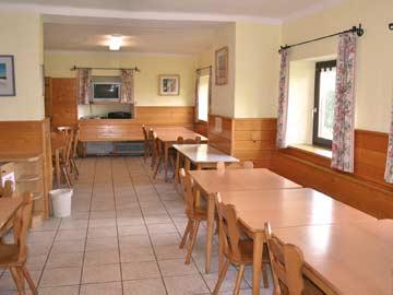Speise- und Aufenthaltsraum