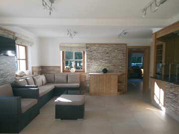 im Herbst 2013 fertiggestellter Loungebereich