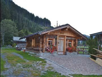 gemütlich-rustikale Hütte