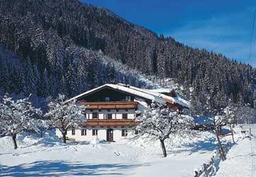 Winterimpressionen Gruppenhaus Saalbach