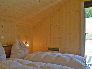 Schlafzimmer 1 im Chalet Hohentauern