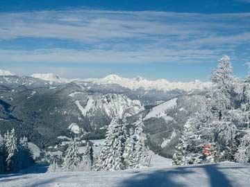 im Skigebiet Hohentauern