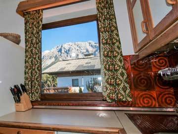 herrliche Aussicht vom Küchenfenster