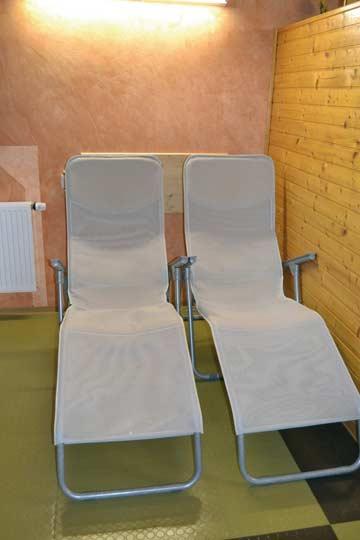 Ferienwohnung Dachstein-Tauern - Ruheliegen im Wellness-Bereich