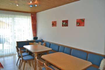 Ferienwohnung Dachstein-Tauern - der Speise- und Aufenthaltsraum