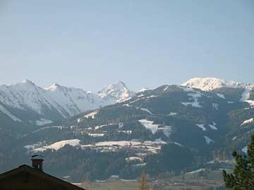Ferienwohnung Dachstein-Tauern - Blick zum Hauser Kaibling