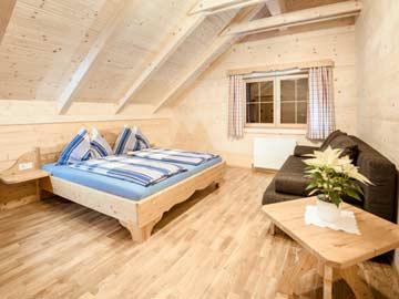 Weiterer Blick in ein 4-Bett-Zimmer