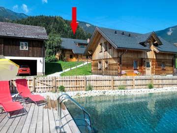 Wunderschöne Ferienhütte im Gröbminger Land
