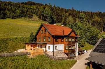 Idyllisch gelegene Berghütte Pruggern bei Schladming