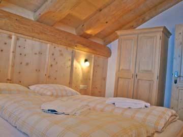 Chalet Oetz - Doppelzimmer im OG
