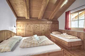 Das 3-Bett-Zimmer im OG
