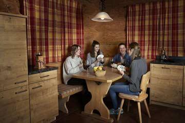 gemütliche zusätzliche Sitzecke in der Küche