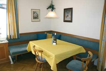 Ferienhaus Fieberbrunn - in der Stube