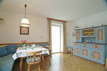 die Tiroler Bauernstube im Ferienhaus Fieberbrunn
