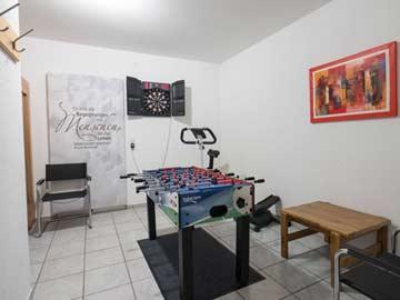 Sauna (Infrarotkabine) für 4 Personen im UG