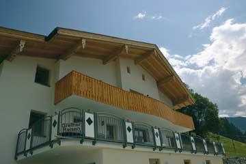 Ferienwohnung Stummerberg: herrliche Aussichtslage über dem Zillertal