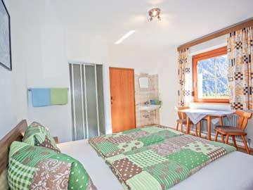 Ferienwohnung Sölden - Blick in die Schlafzimmer