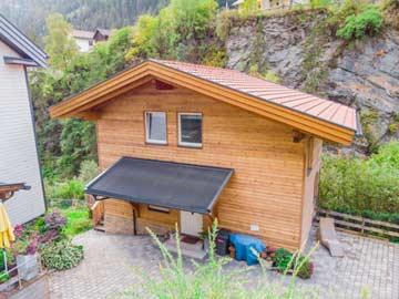 weitere Hausansicht Chalet Arlberg