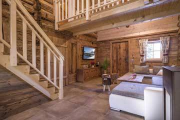 Wunderschönes Hütteninterieur in der Hütte Kelchsau