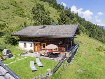 Idylle ist noch untertrieben: unsere Traumhütte bei Kelchsau