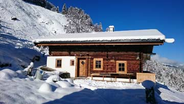 Hütte Kelchsau im Brixental in Traumlage